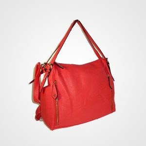 Bright Red Bag